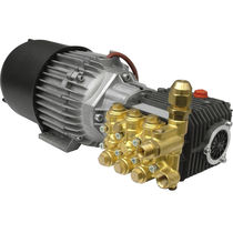 Water pump / with electric motor / self-priming / piston