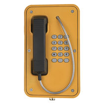 Weatherproof telephone / vandal-proof / analog / for railway applications