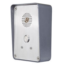 Emergency intercom / outdoor