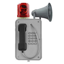 Weatherproof telephone / IP66 / IP67 / vandal-proof