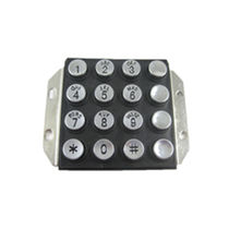 Panel-mount keypad