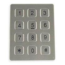 Panel-mount keypad