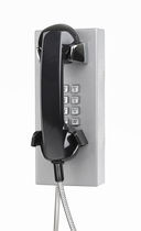 Vandal-proof telephone / analog / wall-mounted / handheld