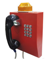 Vandal-proof telephone / IP65 / fireproof / weather-resistant