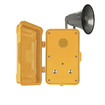 VoIP telephone / GSM / wall-mounted / with loudspeaker