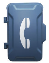 Waterproof telephone handset / vandal-proof / intercom