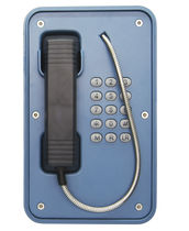 Weatherproof telephone / IP67 / analog / for harsh environment
