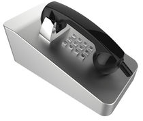 Vandal-proof telephone / IK10 / robust / analog