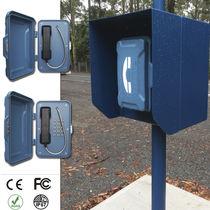 Weatherproof telephone / corrosion-resistant / robust / analog