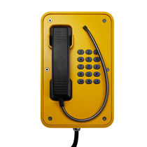 Weatherproof telephone / vandal-proof / analog / for railway applications