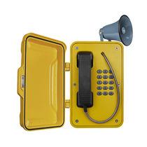 Vandal-proof telephone / weatherproof / IP66 / IP65