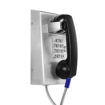 Vandal-proof telephone / analog / VoIP / IP65