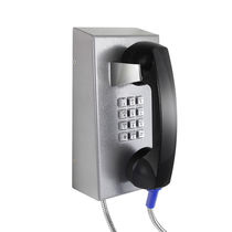 Vandal-proof telephone / weather-resistant / analog / VoIP