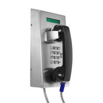 Weatherproof telephone / vandal-proof / waterproof / standard