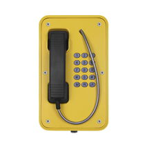 Vandal-proof telephone / weather-resistant / IP67 / corrosion-resistant