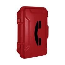 Waterproof telephone handset / vandal-proof / intercom
