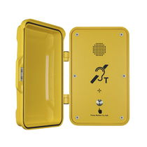 Vandal-proof telephone / weather-resistant / IP66 / rugged