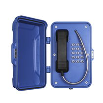 Weather-resistant telephone / IP67 / corrosion-resistant / VoIP