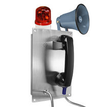Weatherproof telephone / standard / robust / stainless steel