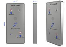 Corrosion-resistant telephone / vandal-proof / fireproof / IK10