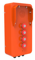 Analog telephone / VoIP / IP65 / for railway applications