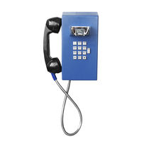 Analog telephone / VoIP / IK10 / IP67