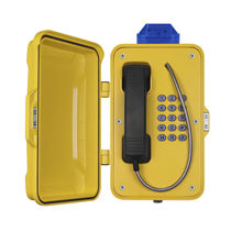 VoIP telephone / IP66 / firefighter / for tunnels