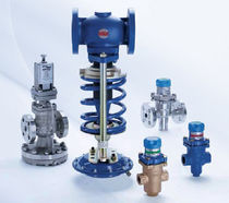 Pressure-control valve / pressure-reducing / for steam