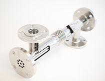 Shell and tube heat exchanger / liquid/liquid / compact / sanitary