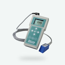Doppler ultrasonic flow meter / non-contact / for wastewater / portable