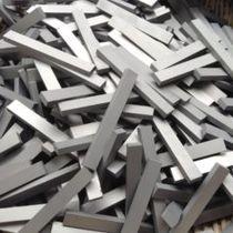 Strip tungsten alloy