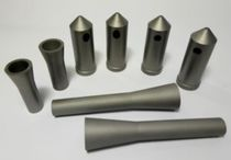 Cleaning nozzle / multi-jet / tungsten carbide / for the steel industry