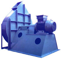 Centrifugal fan / exhaust / low-noise / aluminum
