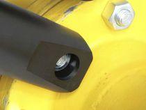 Hydraulic nut splitter