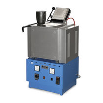 Melting furnace / chamber / electric / for non-ferrous metals