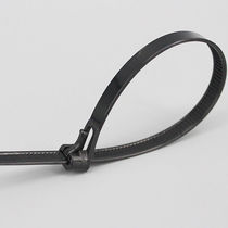 Plastic cable tie / reusable / inside serrated / flameproof