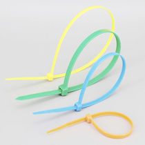 Nylon cable tie / inside serrated / self-locking / corrosion-proof