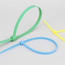 Nylon cable tie / inside serrated / self-locking / flameproof