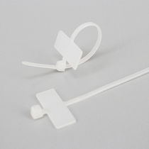 Nylon cable tie / marker / inside serrated / flameproof