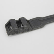 Plastic cable tie / flameproof / inside serrated / for heavy loads