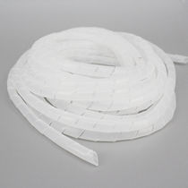 Spiral sleeve / for cables / protection / polyethylene