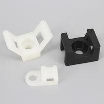 Plastic cable tie mount