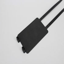 Nylon cable tie / inside serrated / UV-resistant / marker