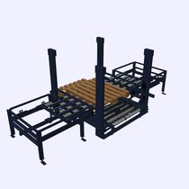 Pallet stacker-destacker