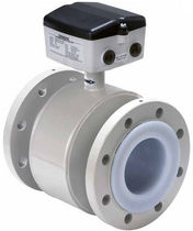 Electromagnetic flow meter / for water / flange