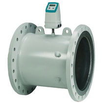 Ultrasonic flow meter / for water / with battery / in-line