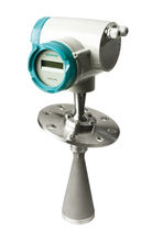 FMCW radar level transmitter / for solids / bulk solids / for vessels