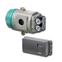 Electro-pneumatic valve positioner / rotary / linear / compact