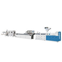 Profile extrusion line / for PVC / window profile / foam profile