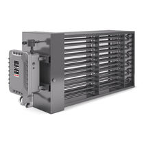 Duct heater / air / convection / explosion-proof